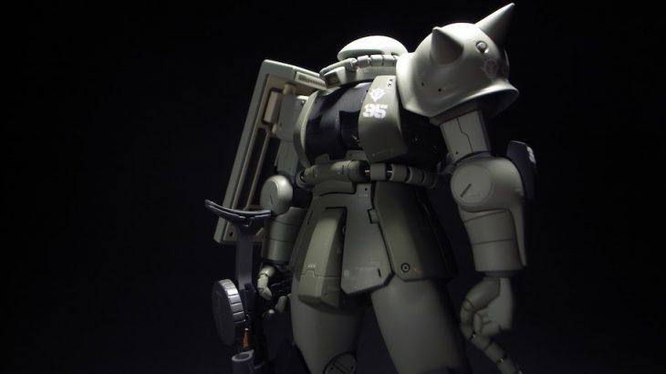 HGUC MS-06 ZAKUII 量産型ザク完成(詳細)